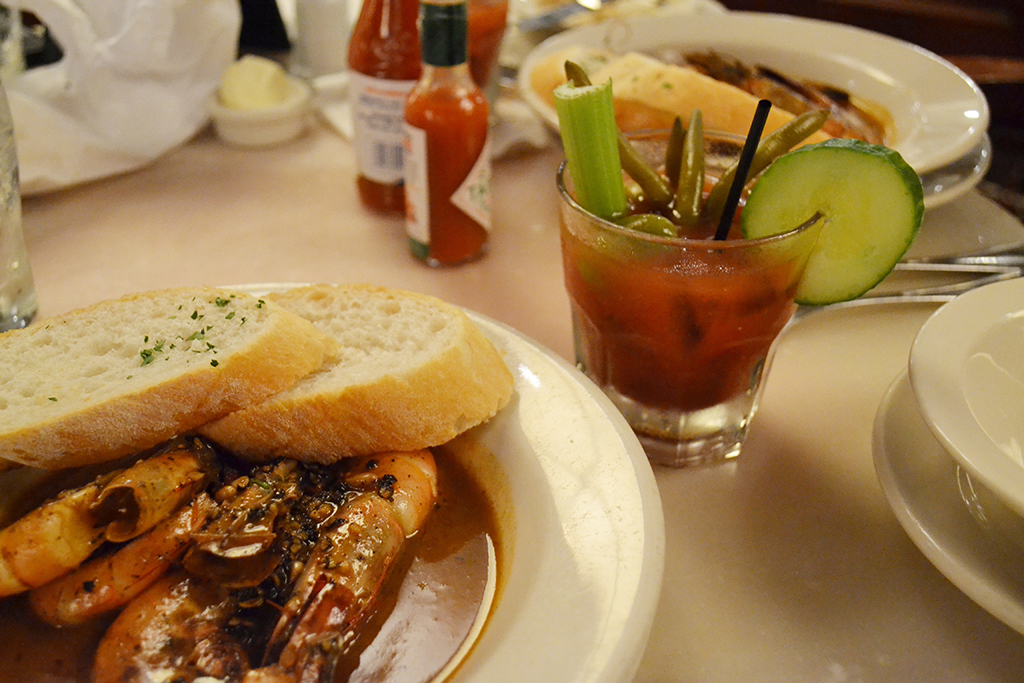 The best BBQ shrimp
